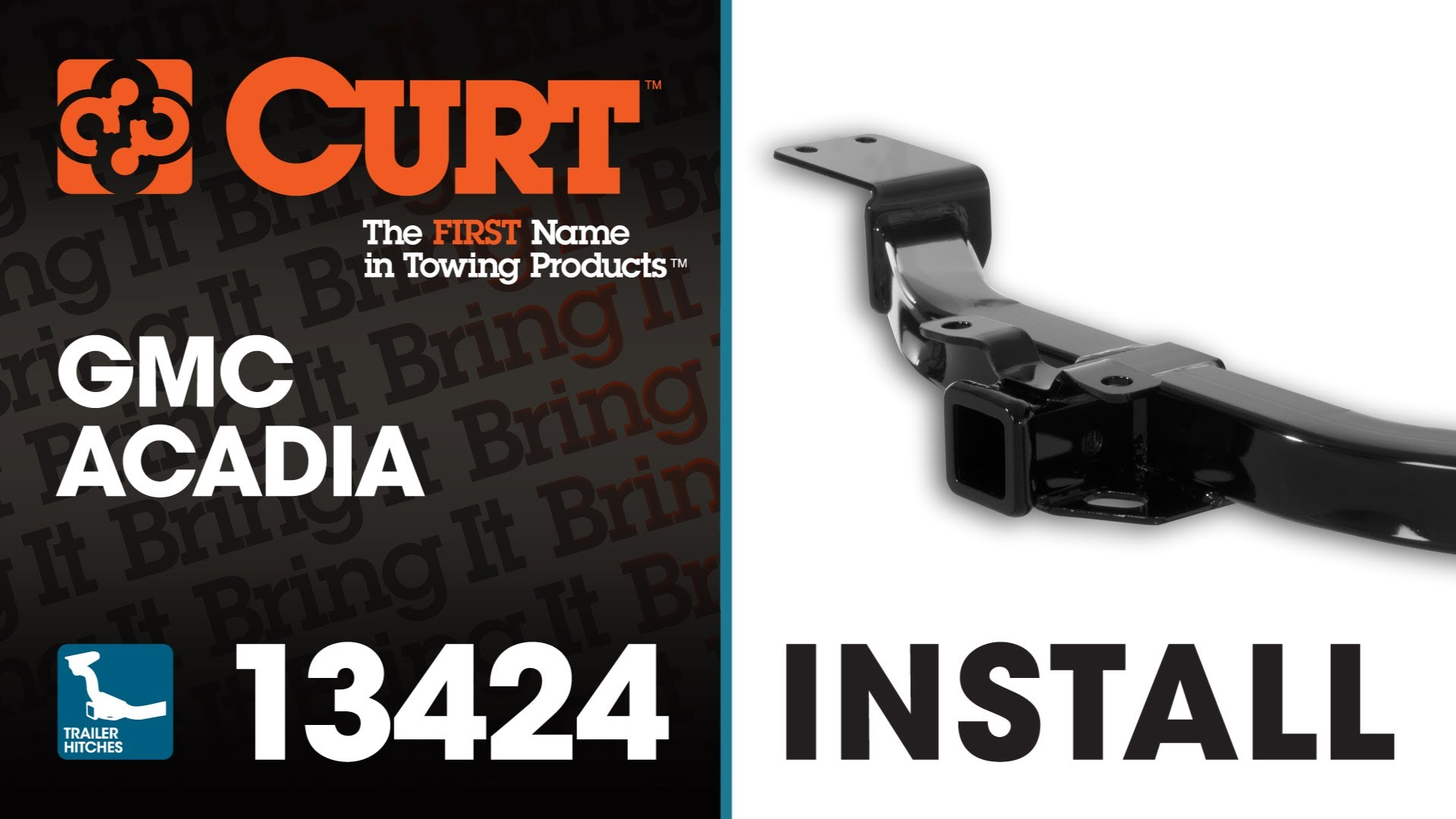 Trailer Hitch Install: CURT 13424 on GMC Acadia