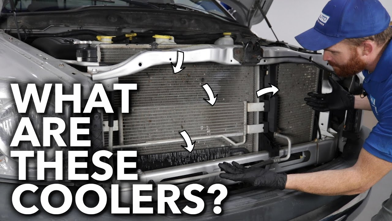 What Are All the Other Coolers Beside My Cars Radiator
