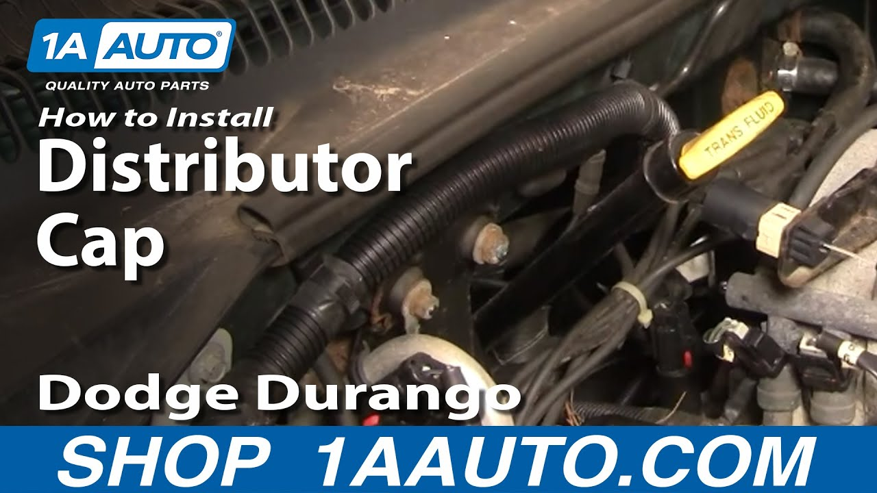 How To Replace Distributor Cap 98