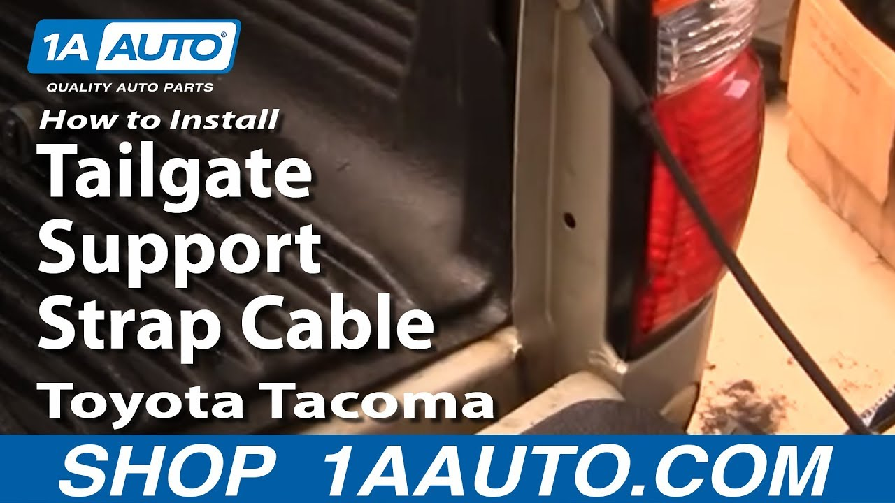 How to Replace Tailgate Cable 95-04 Toyota Tacoma