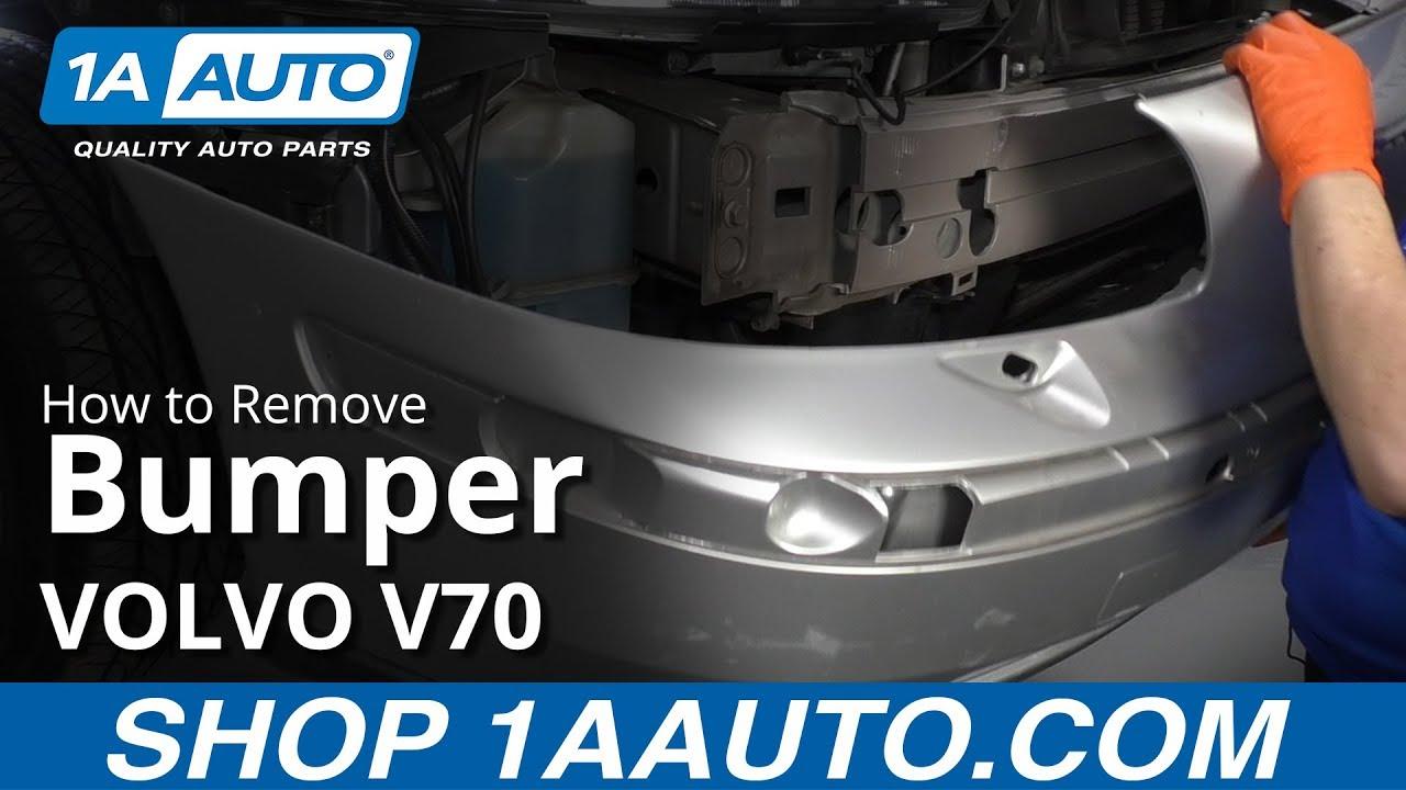 How to Remove Bumper 00-07 Volvo V70
