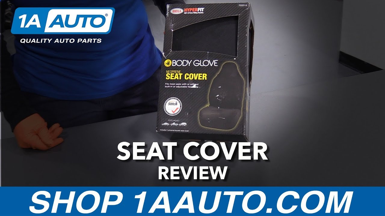 Black Bucket Seat Cover - Available at 1AAuto.com