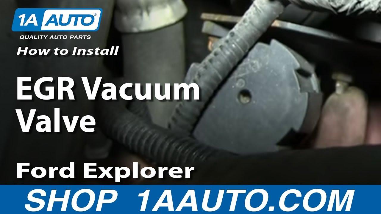 How to Replace EGR Valve Vacuum Modulator 01-03 Mercury Mountaineer
