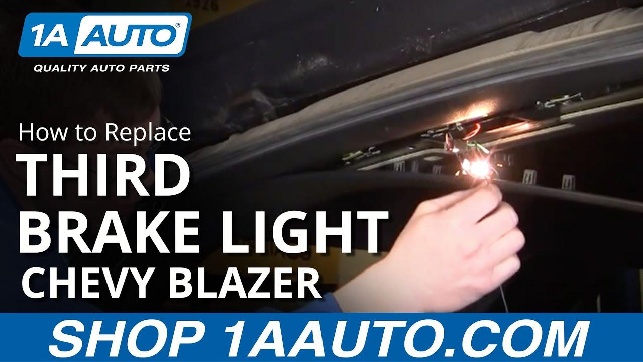 how to replace third ke light 94-05 chevy blazer s10 | 1a auto park  repair guides | wiring