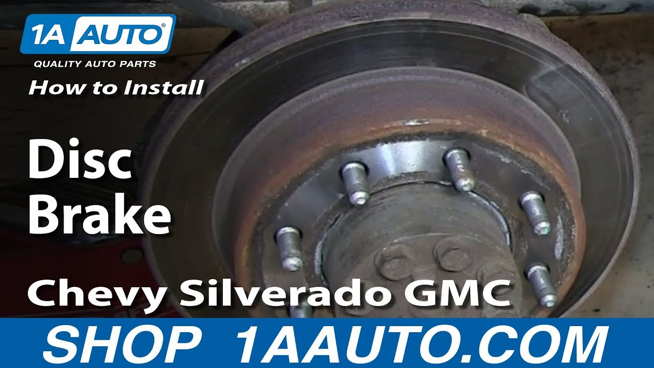 How to Replace Rear Calipers 99-06 GMC Sierra 2500 HD