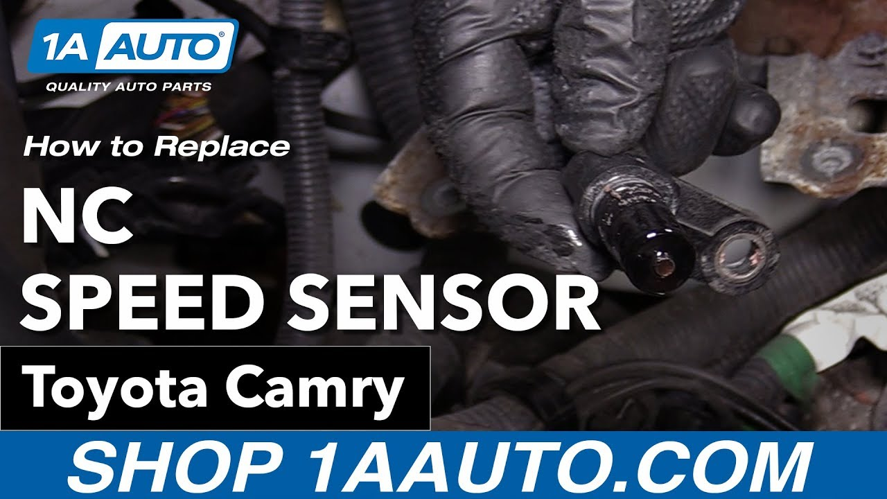 How to Replace NC Speed Sensor 06-11 Toyota Camry