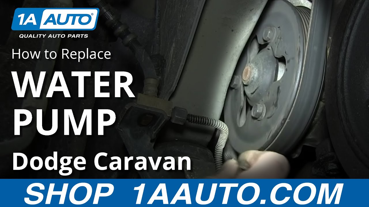 How To Replace Water Pump 01-07 3.3L/3.8L Dodge Caravan