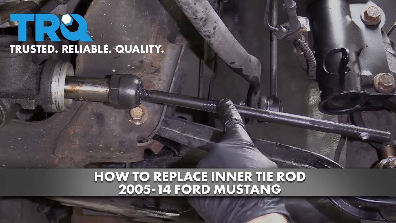 How to Replace Inner Tie Rod 2005-14 Ford Mustang