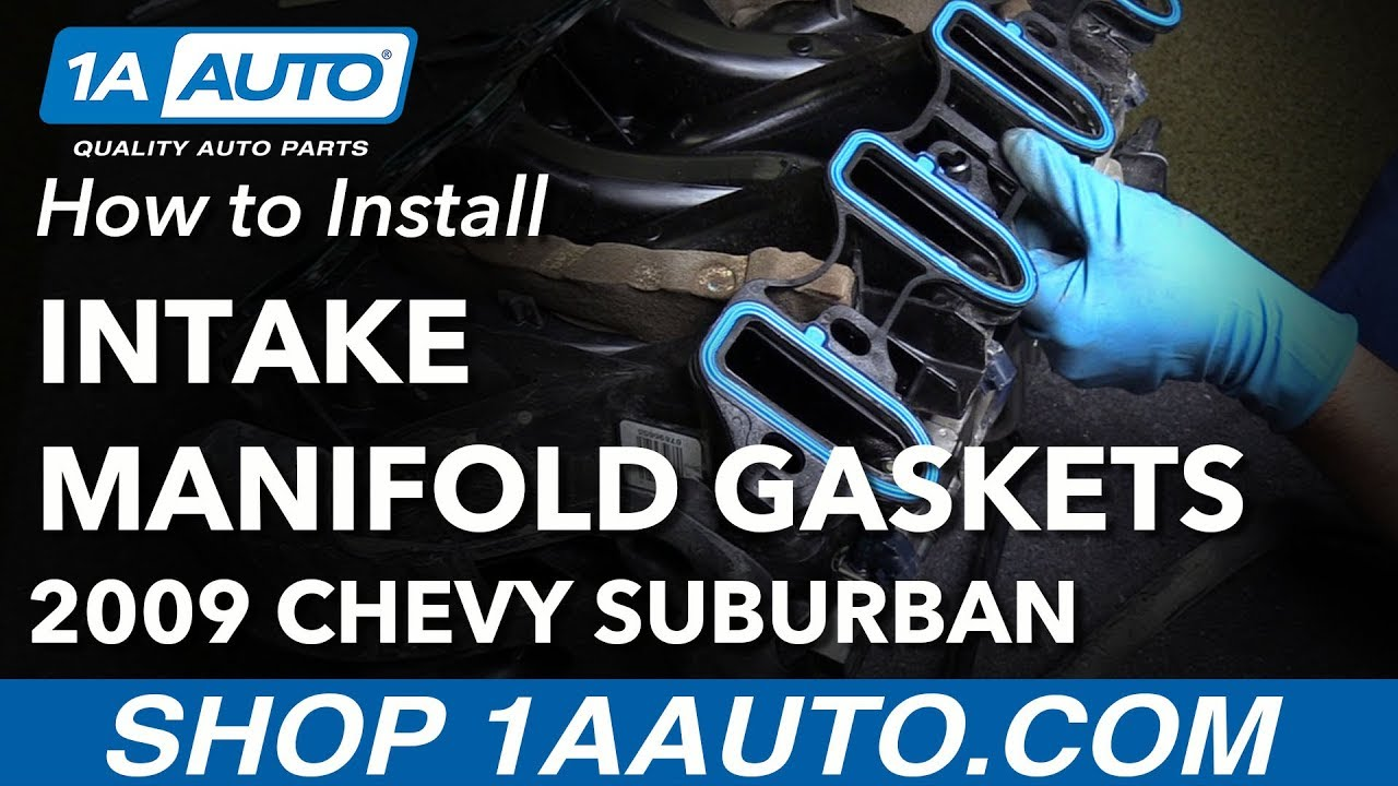 How to Replace Intake Manifold Gaskets 02-14 Chevy Suburban 1500