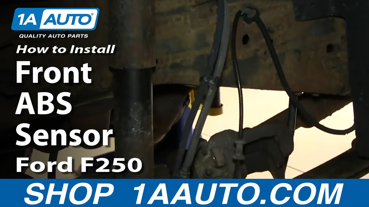 How to Replace ABS Speed Sensor with Harness 00-05 Ford Excursion