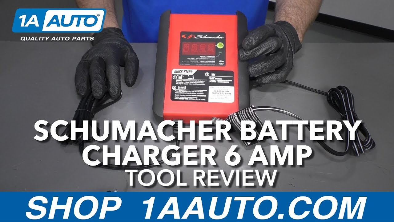 Schumacher Battery Charger 6Amp - Available at 1AAuto.com