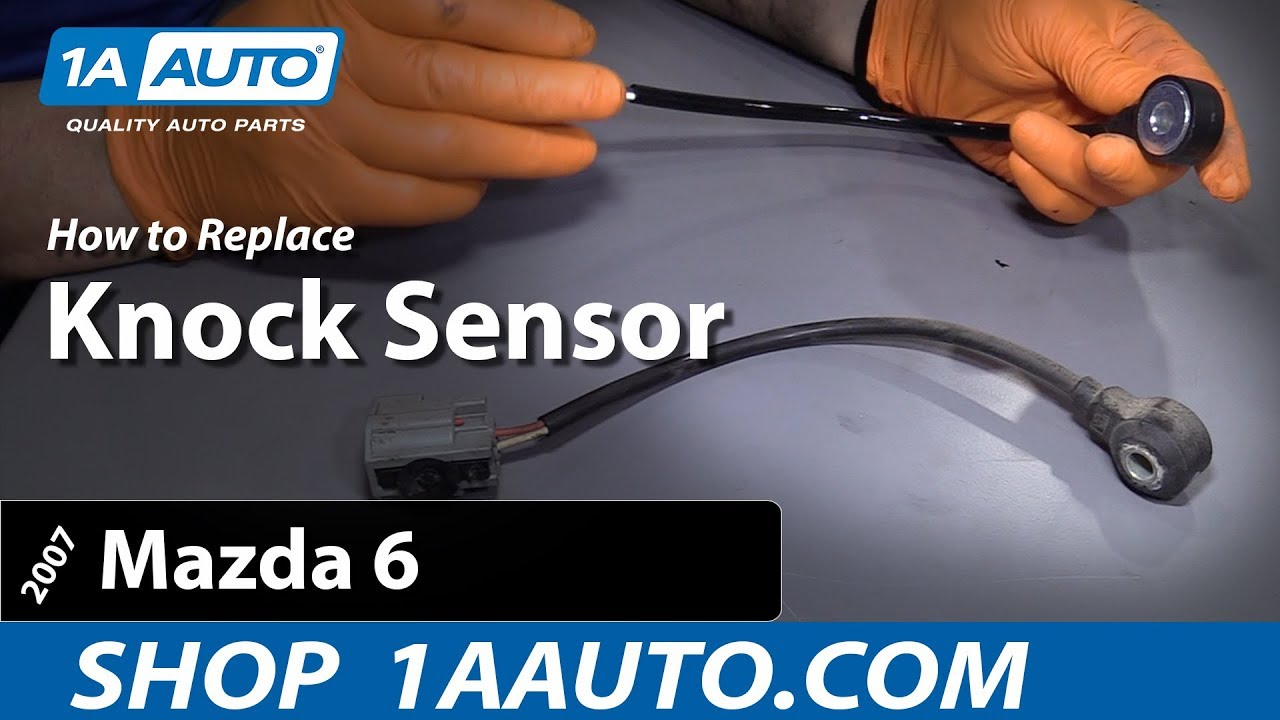How to Replace Knock Sensor on a 2003-08 Mazda 6 L4 2.3L (Excluding Turbo Models)