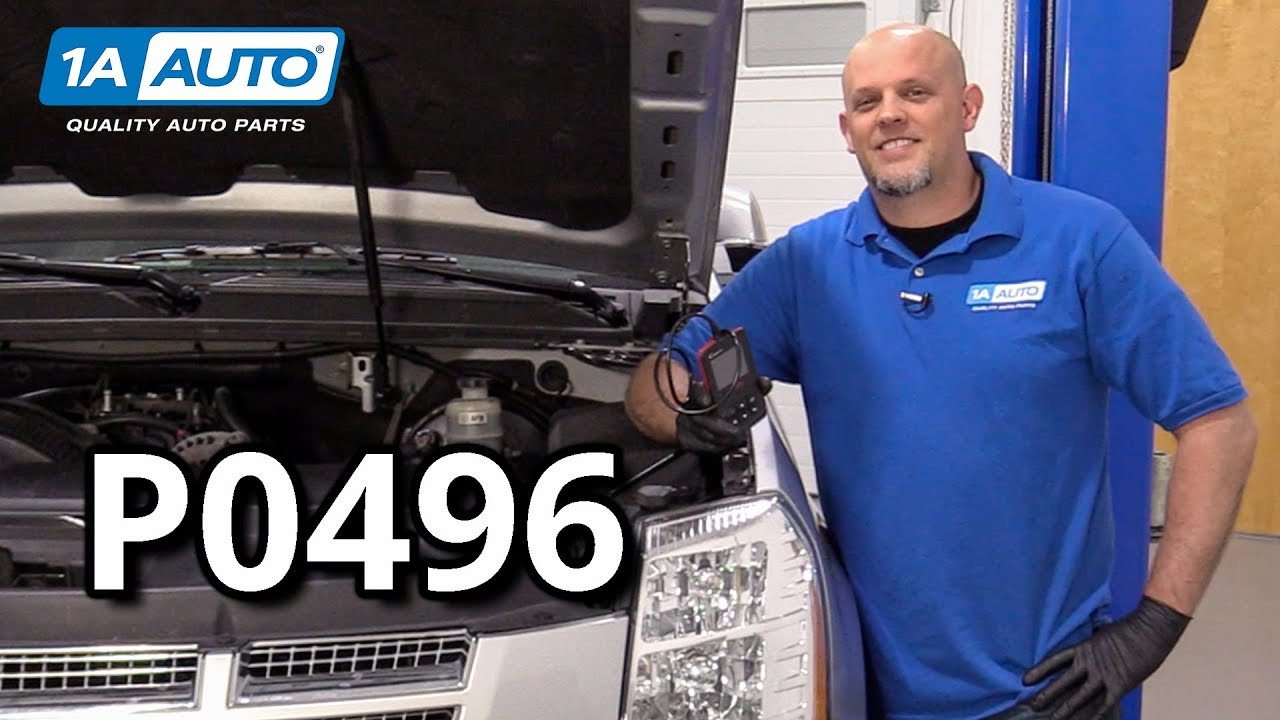 Check Engine Light EVAP Flow During Non-Purge Condition - Code P0496