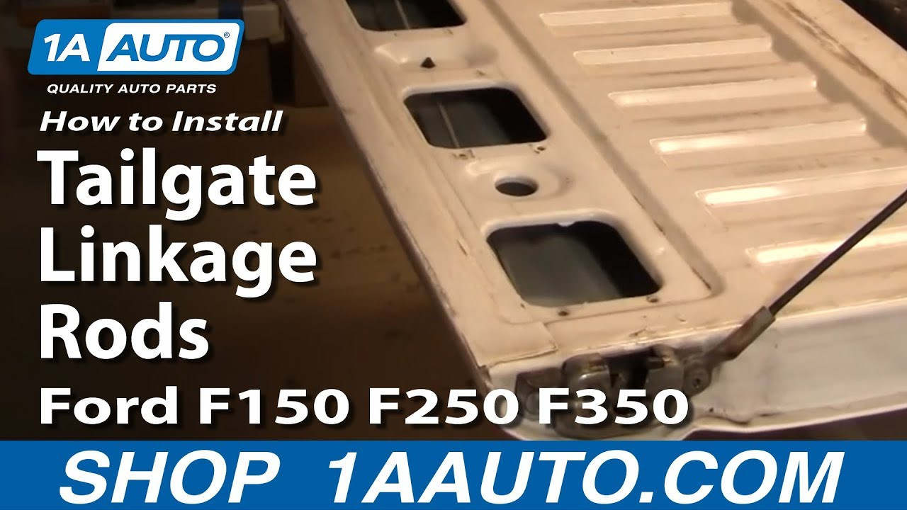 How To Replace Tailgate Linkage Rods Ford 92 96 F150 250