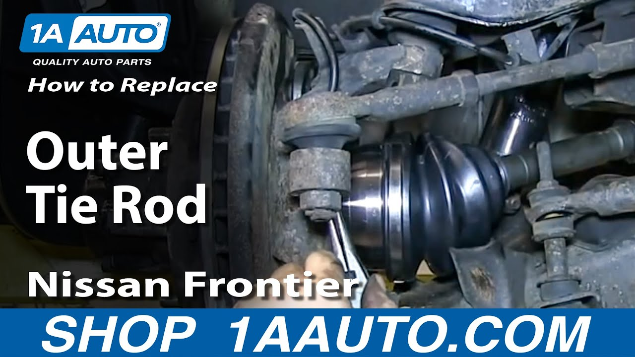 How to Replace Tie Rod Assembly 98-04 Nissan Frontier