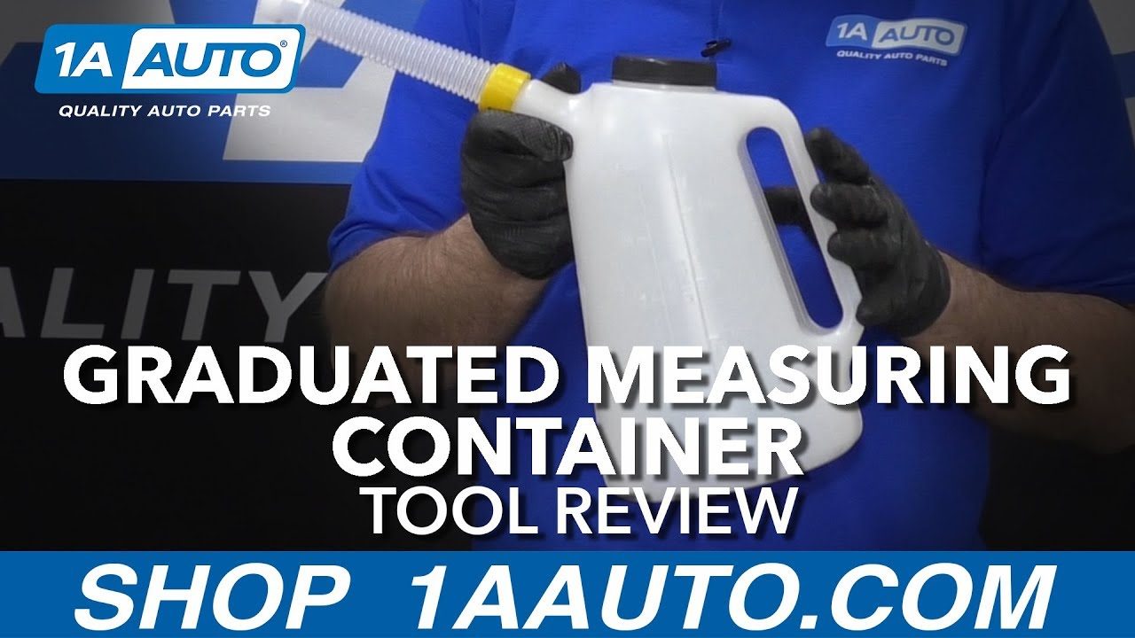 Graduated Measuring Container - Available at 1AAuto.com