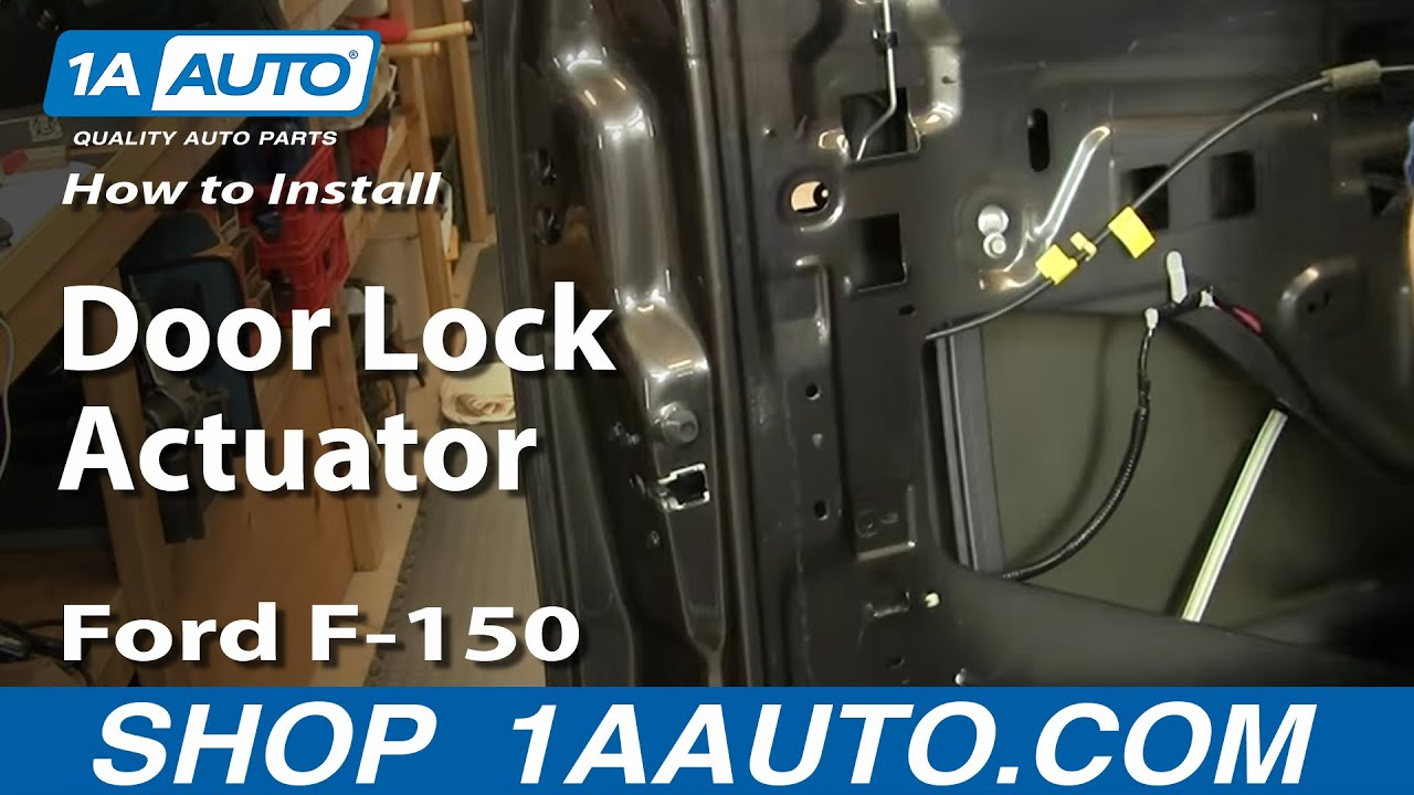 How To Replace Door Lock Actuator 04 08 Ford F 150 1a Auto