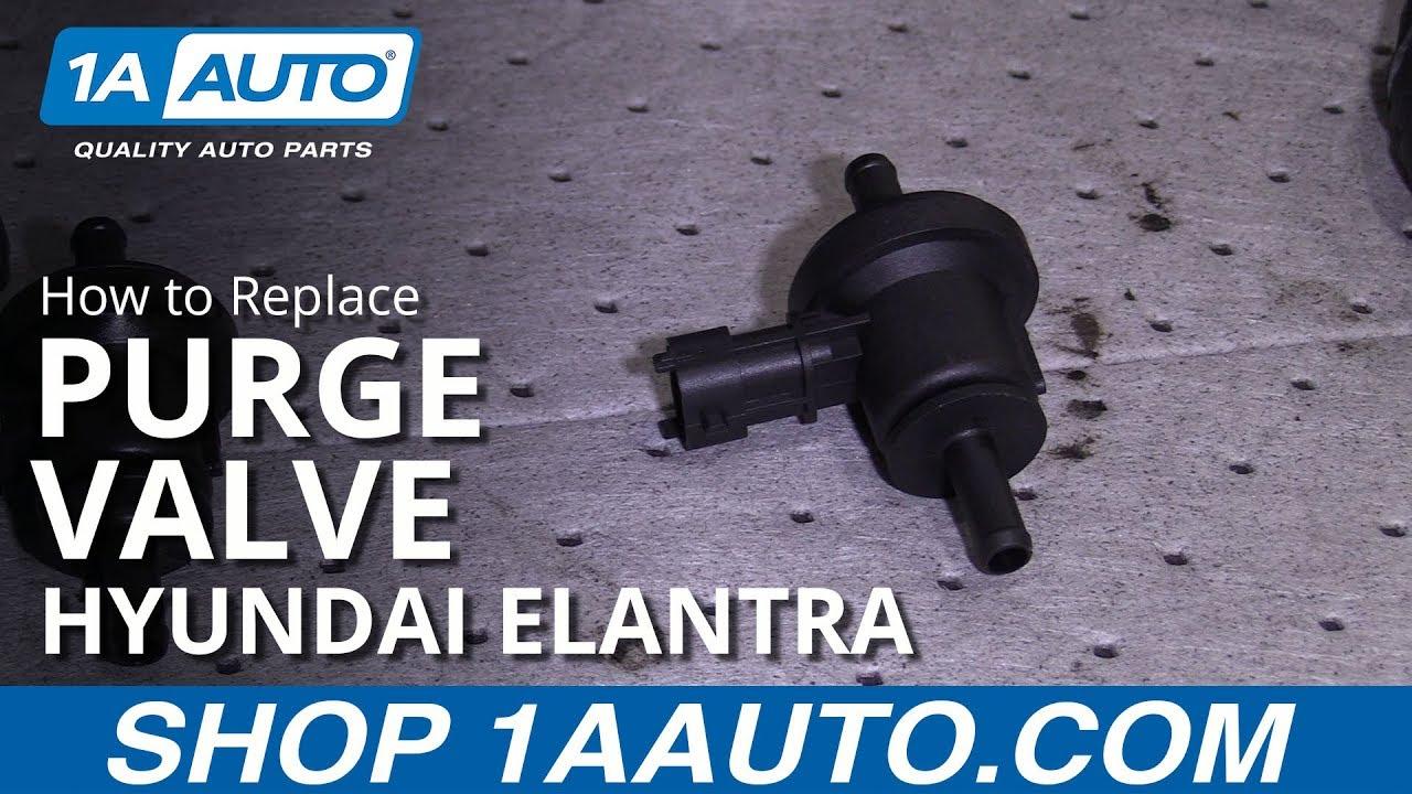 How to Replace Purge Valve 07-10 Hyundai Elantra