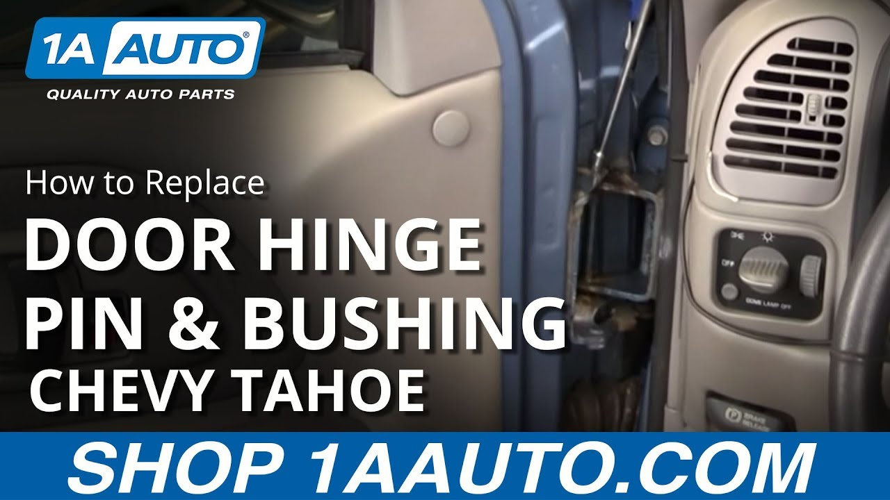 How to Replace Door Hinge Pin & Bushing Kit 1995-1998 Chevy Tahoe SUV