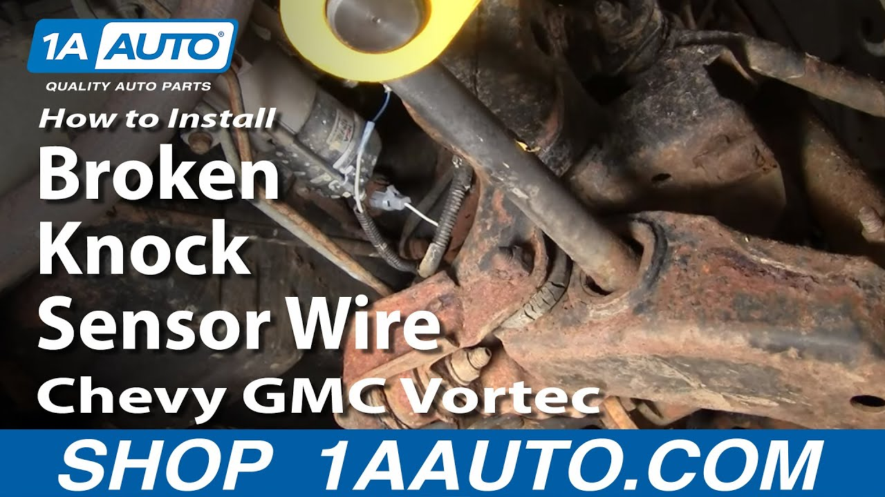 How to Replace Engine Knock Sensor 95-00 Chevy Tahoe