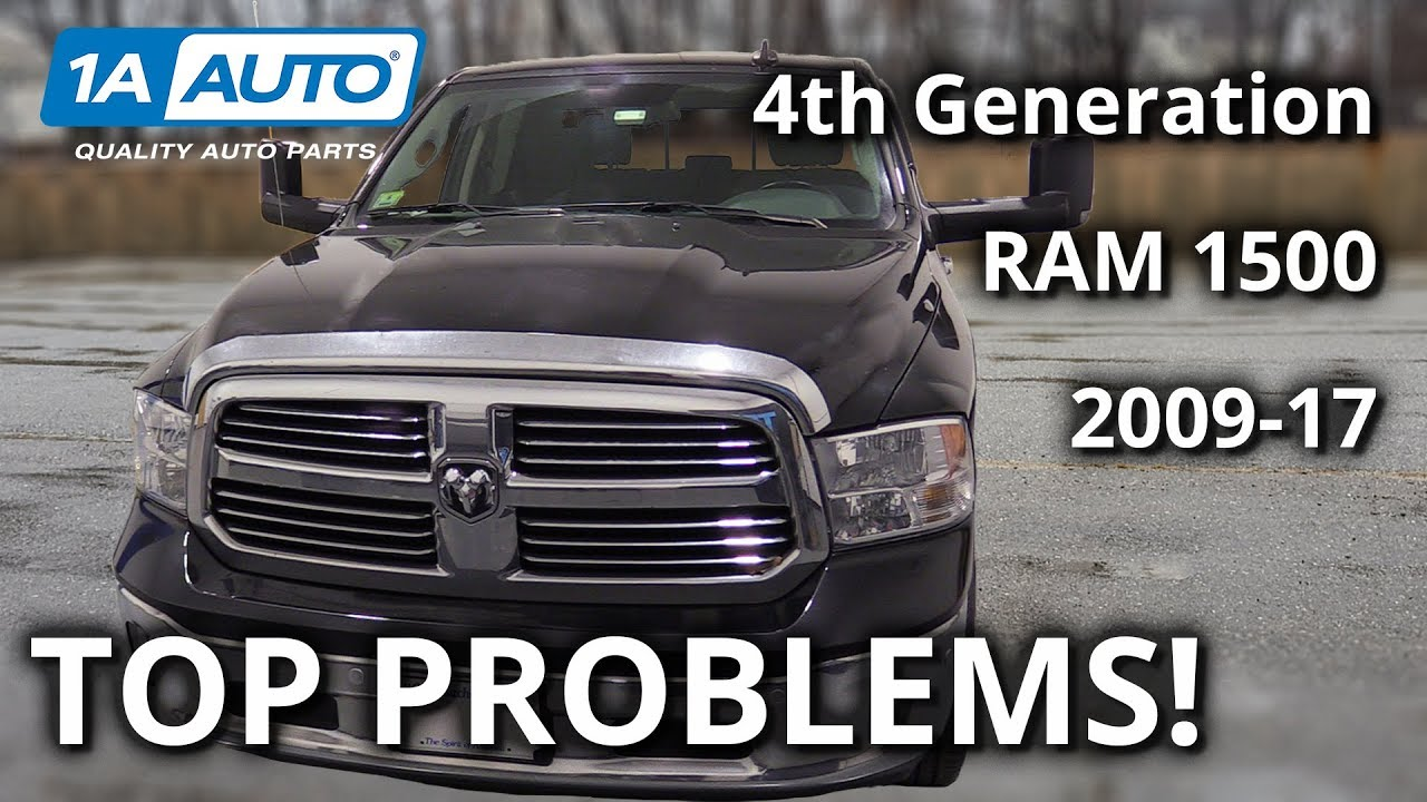 Top 5 Problems Ram Truck 1500 4th Generation 2009-17
