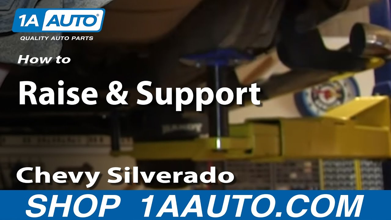 Where to Place Jack and Jackstands Chevy Silverado