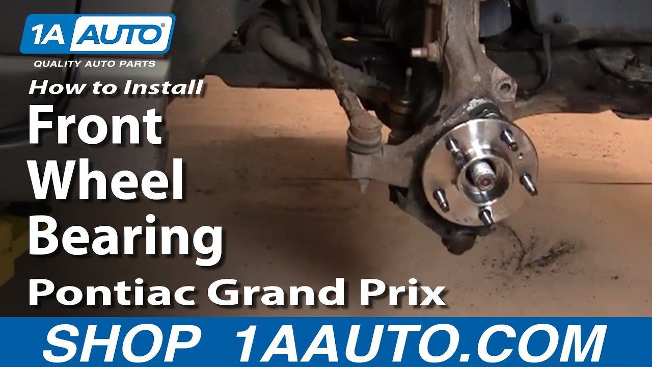 How to Replace Wheel Bearing & Hub Assembly 97-08 Pontiac Grand Prix