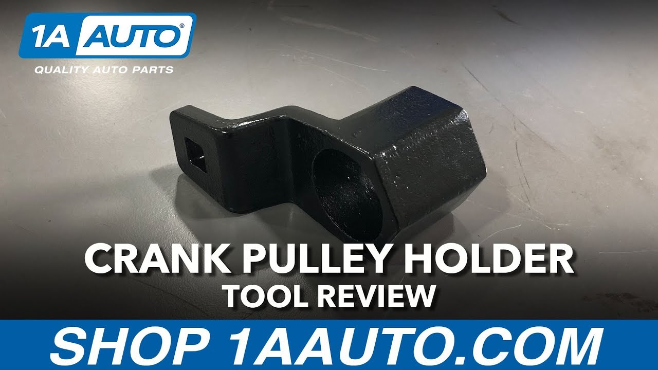 Crank Pulley Harmonic Balancer Holder Tool - Available on 1aauto.com
