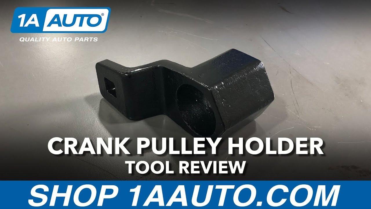 Crank Pulley Harmonic Balancer Holder Tool - Available on 1aauto.com