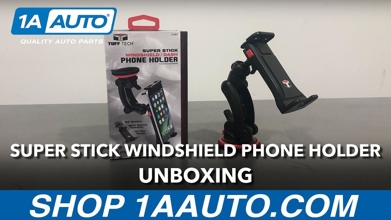 Super-Stick Windshield Phone Holder - Unboxing