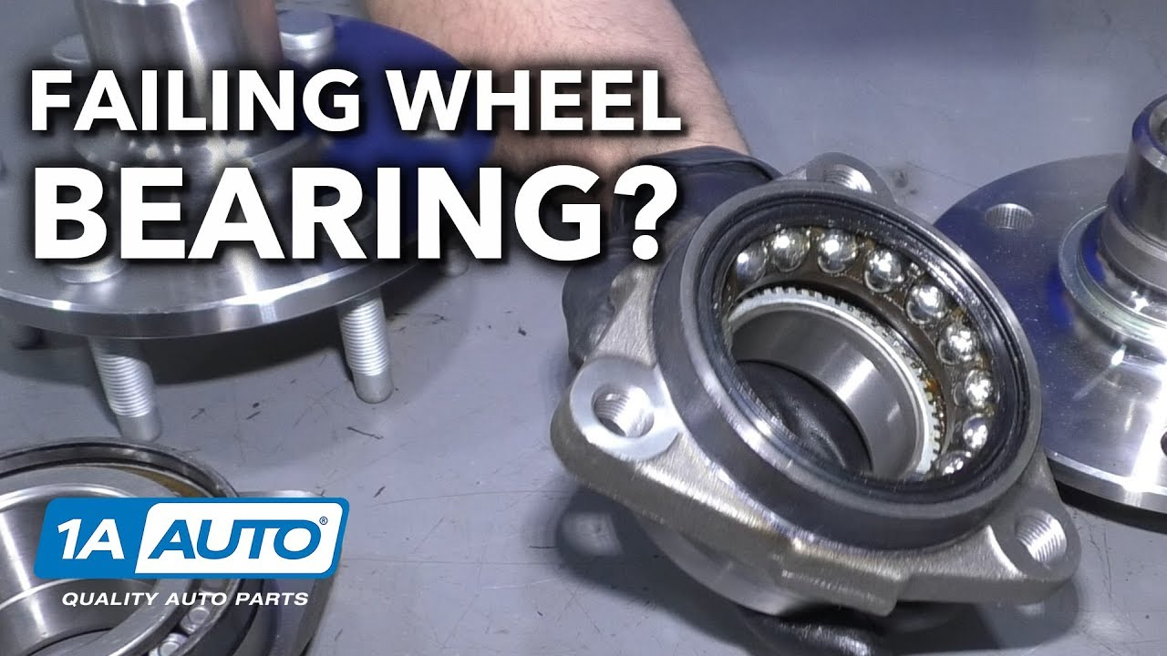 Noisy Wheel While Driving? Could be a Bad Wheel Bearing!