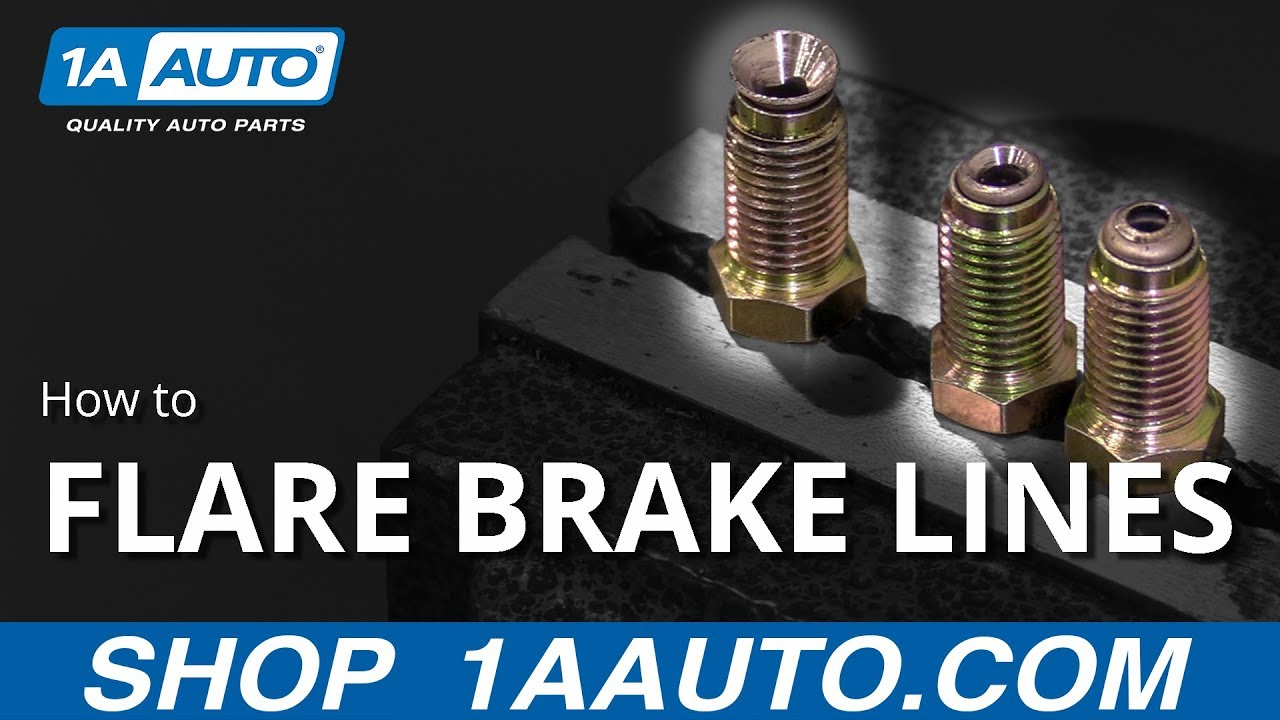 How to Flare Brake Lines for Your Truck Car or SUV