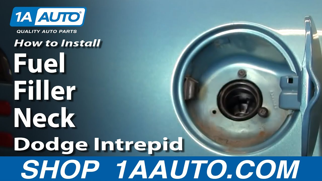 How to Replace Fuel Tank Filler Neck 93-97 Dodge Intrepid