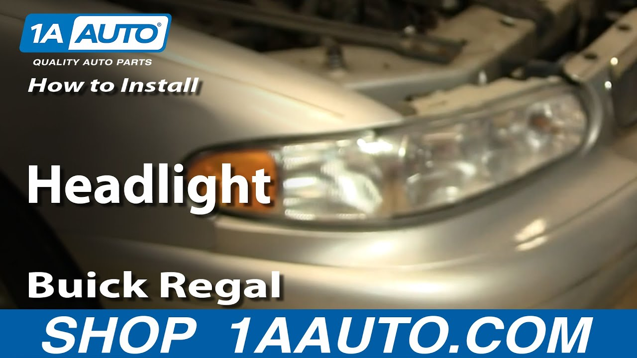 How to Replace Headlights 97-05 Buick Century