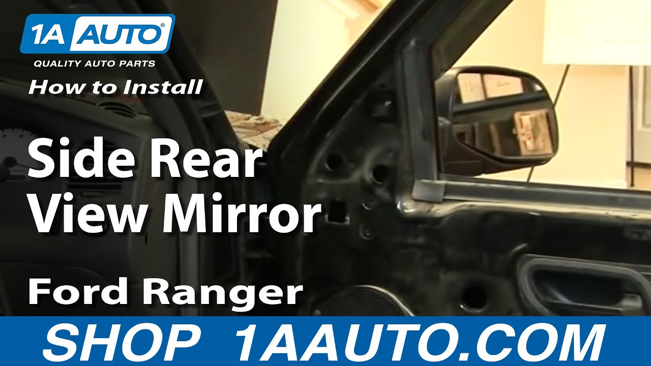How to Replace Mirror 93-05 Ford Ranger
