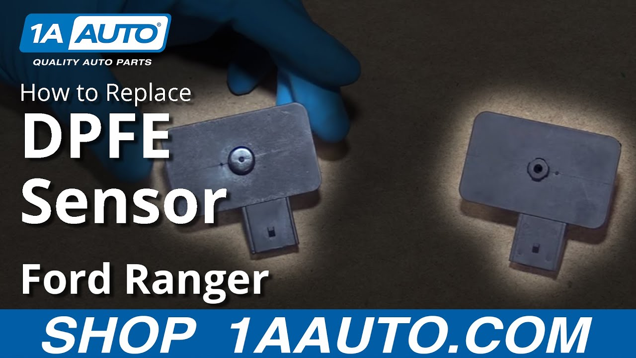 How to Replace EGR Pressure Feedback Sensor DPFE 01-02 Ford Ranger V6 4 0L