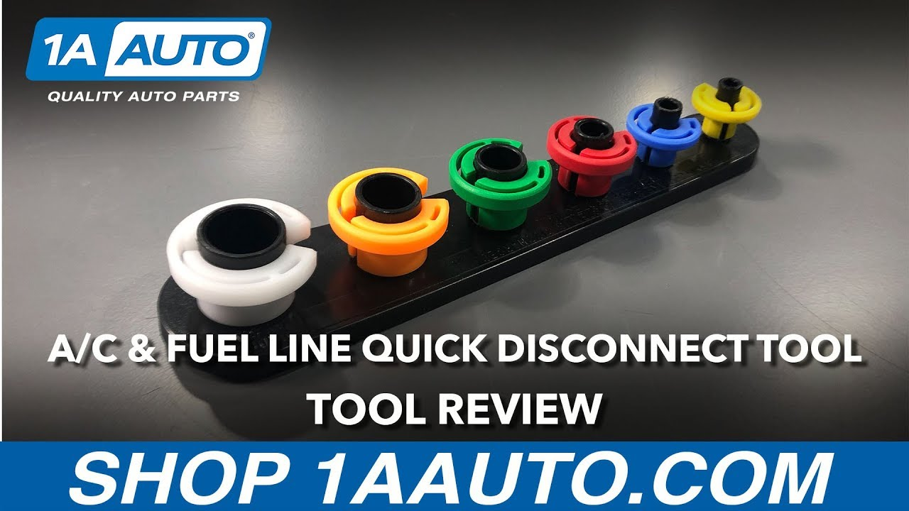 A/C & Fuel Line Quick Disconnect Tool Set