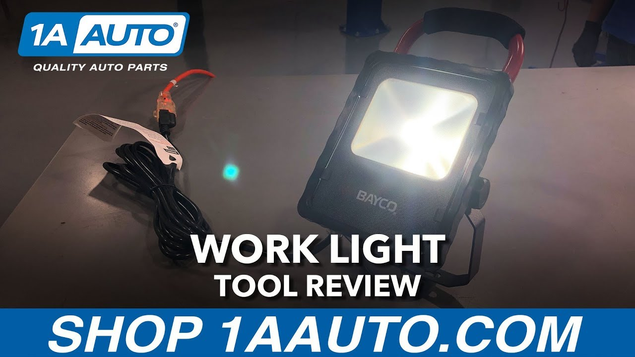 Work Light With Magnetic Base - Available on 1aauto.com