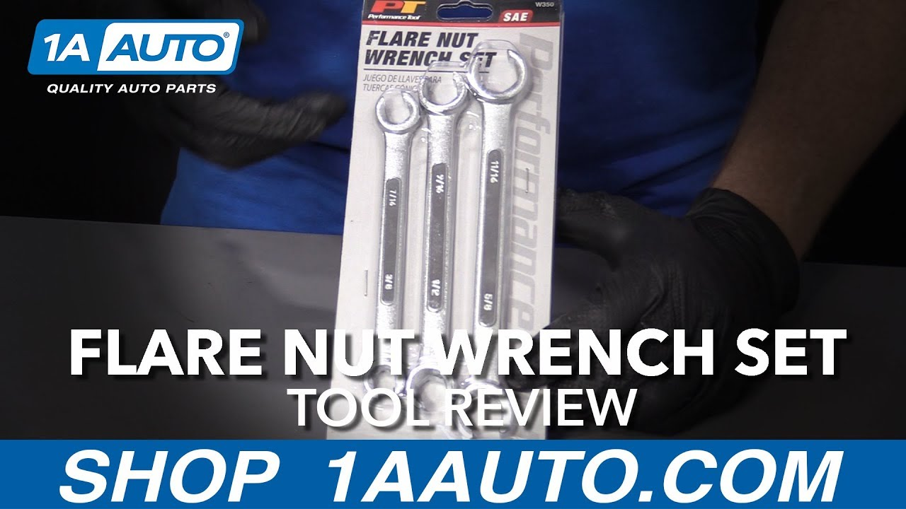 Flare Nut Wrench Set - Available at 1aauto.com