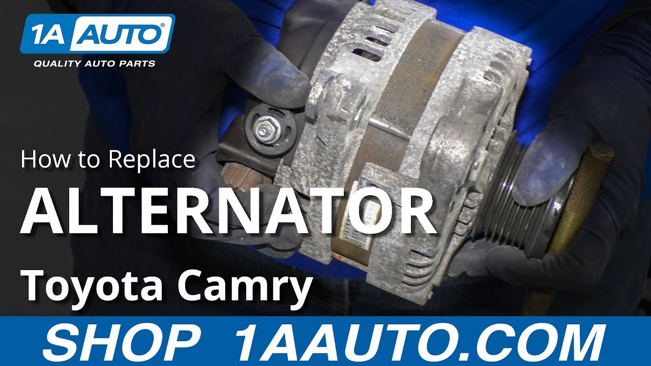 How to Replace Alternator 11-17 Toyota Camry