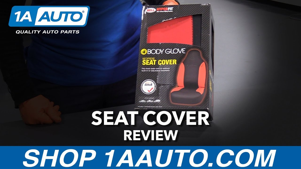 Red Bucket Seat Cover - Available at 1AAuto.com