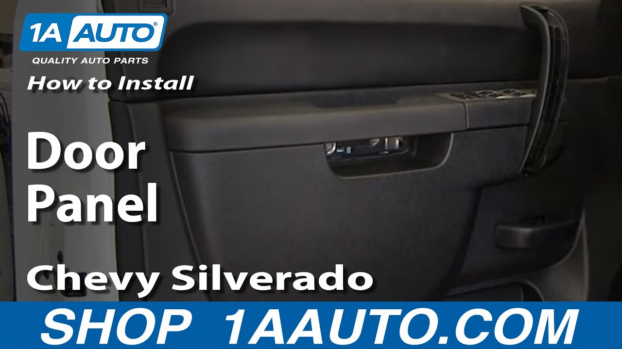 How To Remove Front Door Panel 07 13 Chevy Silverado 1500 Truck 1a Auto