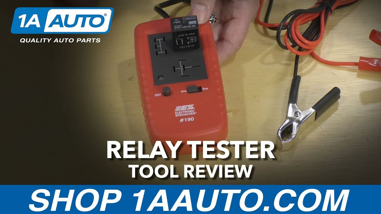 Relay Tester - Available at 1AAuto.com