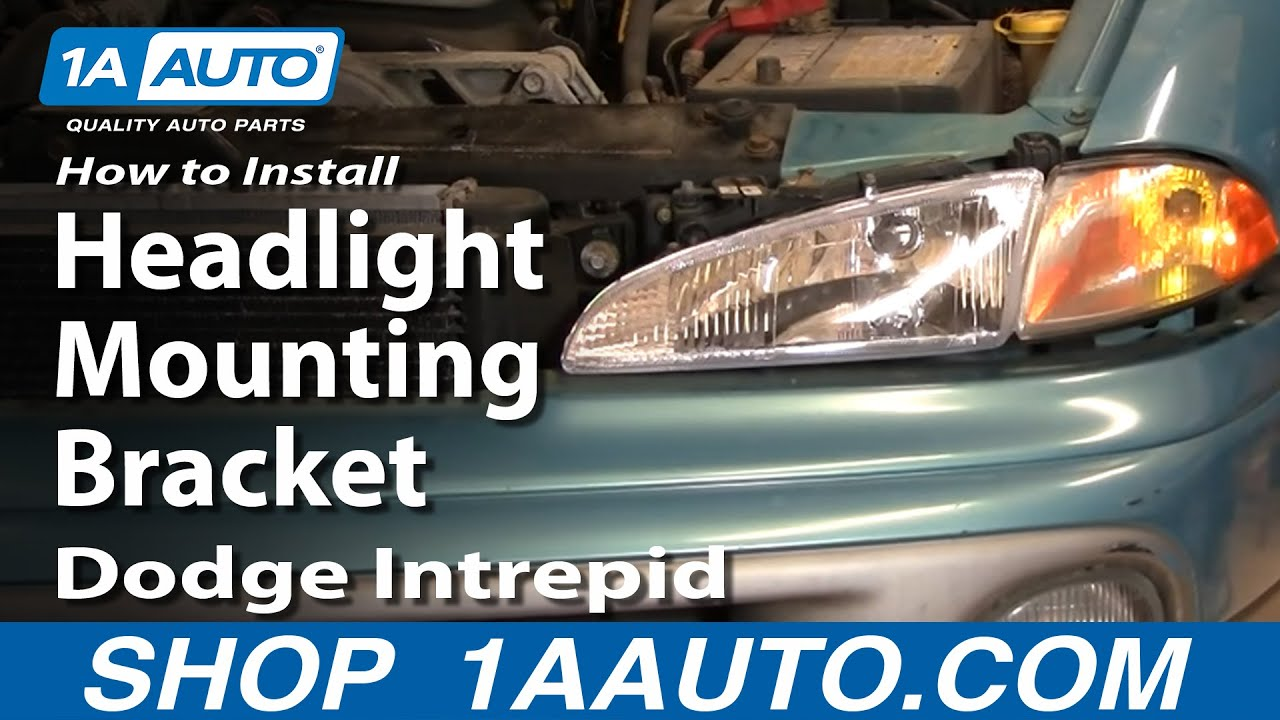 How to Replace Headlight Mounting Bracket 93-97 Dodge Intrepid