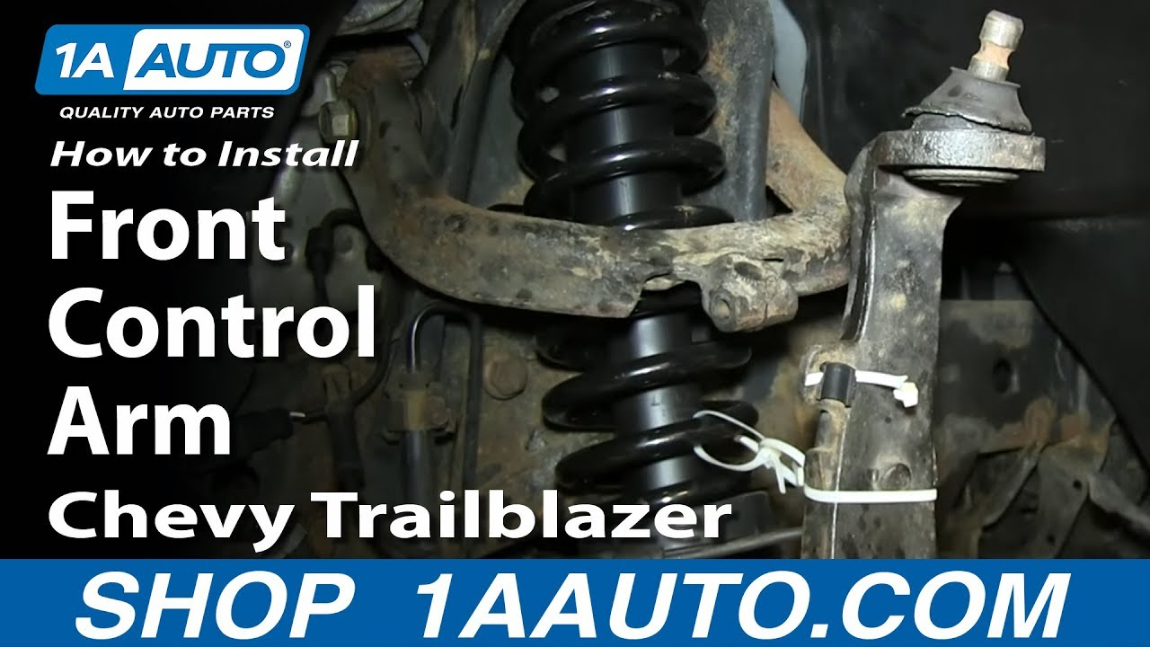 How To Replace Control Arm 02 09 Gmc Envoy Xl 1a Auto