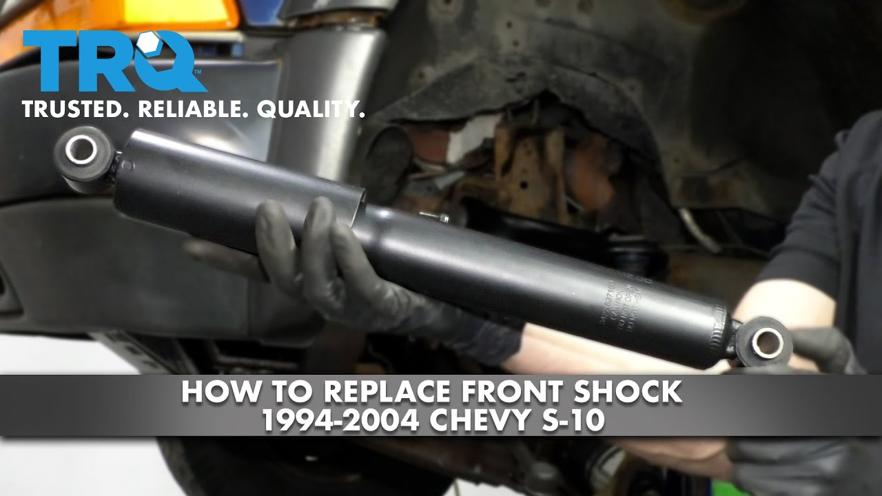 How to Replace Front Shock 1994-2004 Chevy S-10
