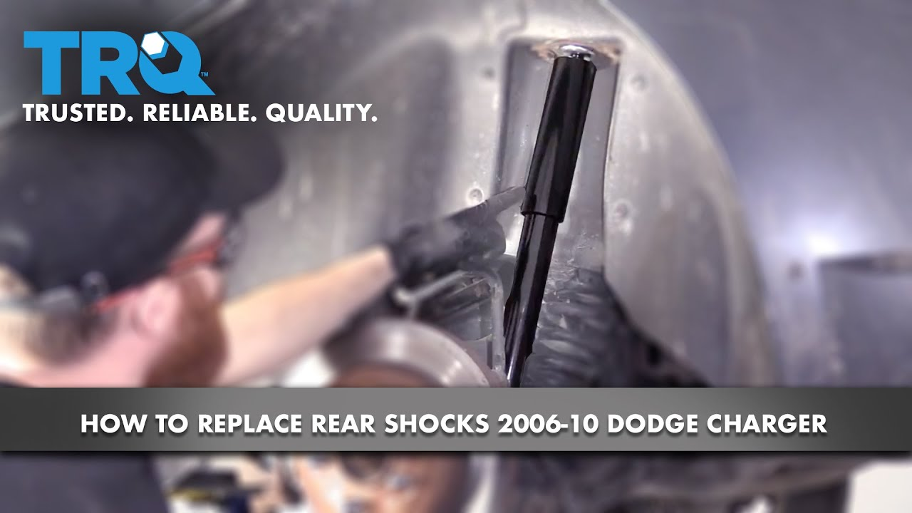 How to Replace Rear Shocks 2006-10 Dodge Charger
