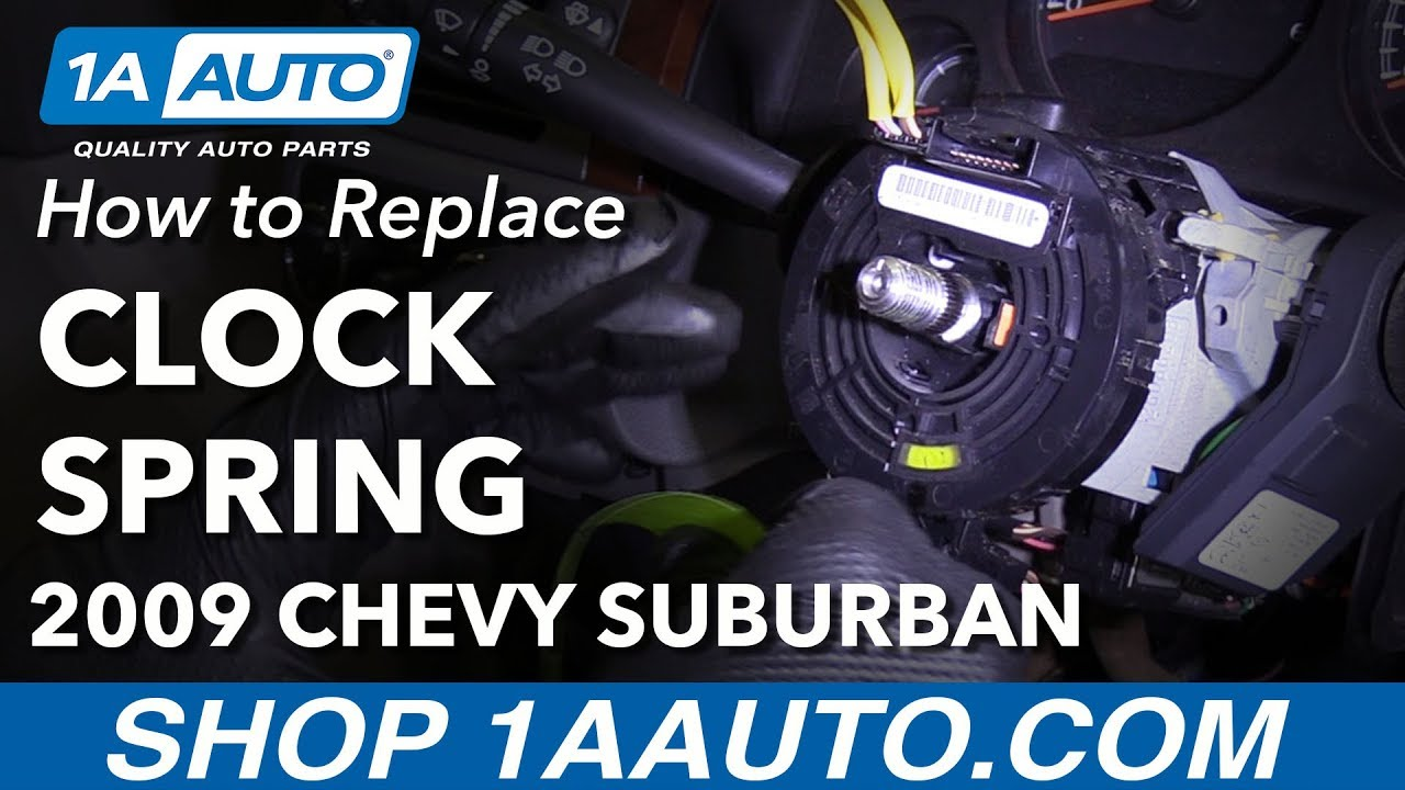 How to Replace Airbag Clock Spring 07-10 Chevy Suburban 1500