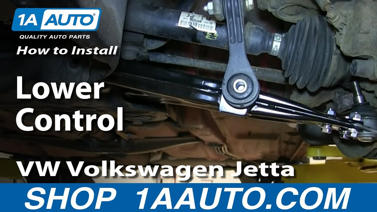 How to Replace Control Arm 99-09 Volkswagen Jetta