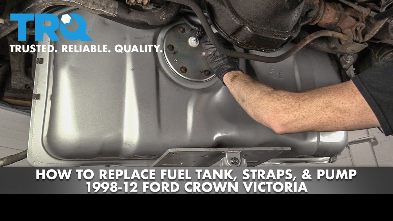 How to Replace Fuel Tank, Straps, Pump 98-12 Ford Crown Victoria